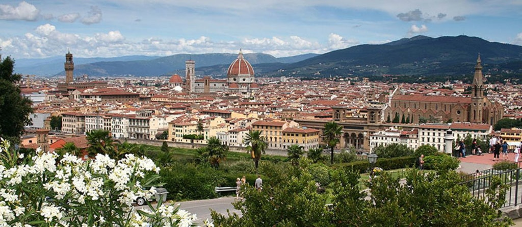 Panoramica della città di Firenze