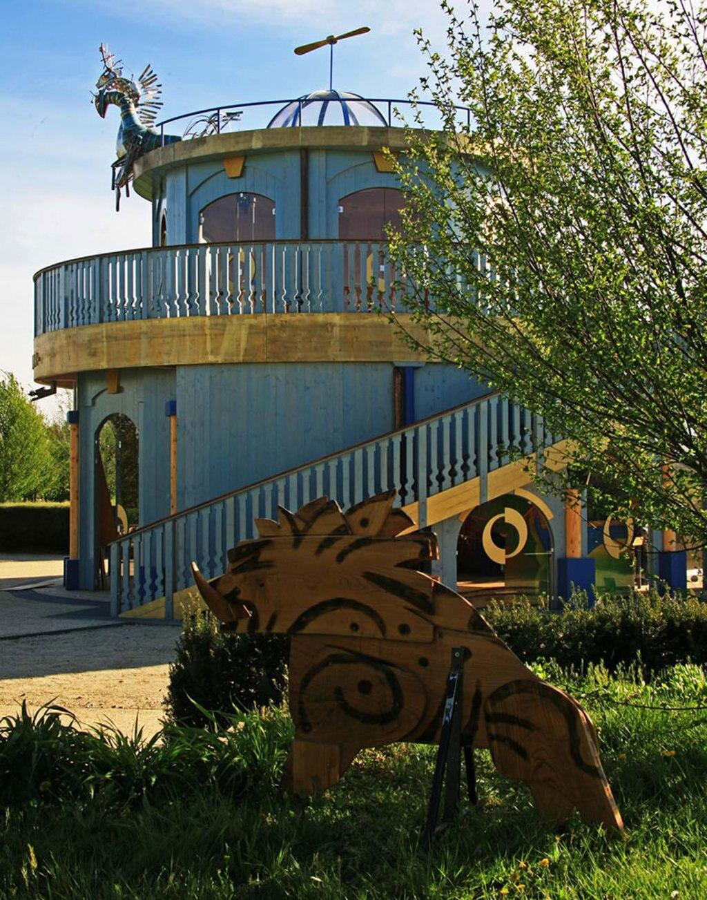 .L'area giochi del Fantacasino alla Reggia di Venaria. Courtesy of Consorzio La Venaria Reale