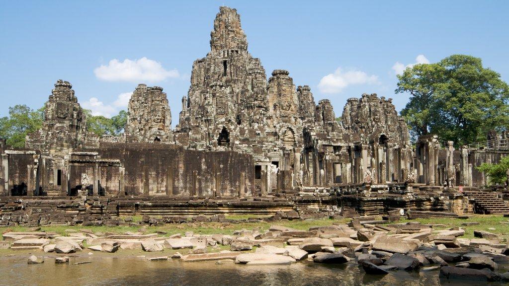 Angkor Bayon which includes a ruin
