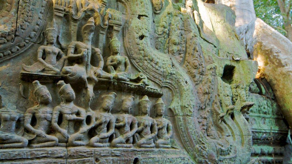 Templo Ta Prohm ofreciendo un templo o lugar de culto y elementos religiosos