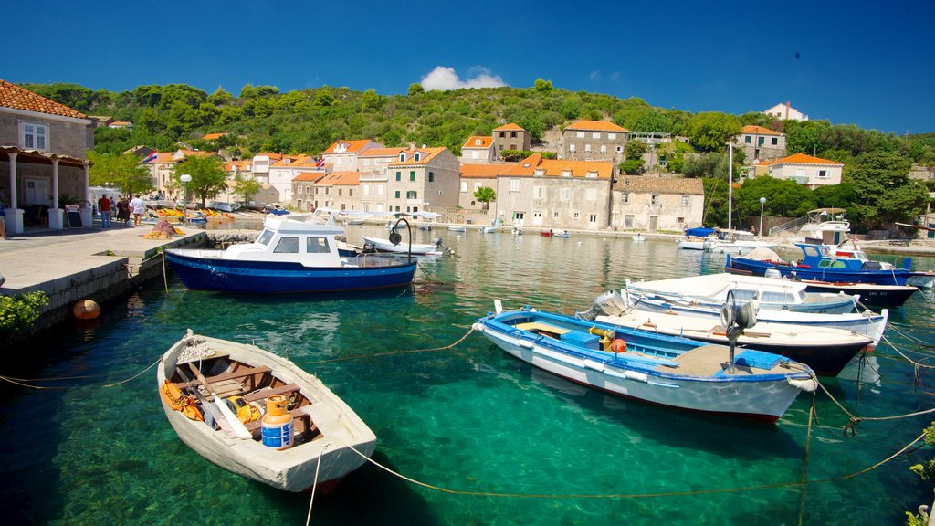 Dubrovnik - Southern Dalmatia featuring a coastal town, a bay or harbor and boating