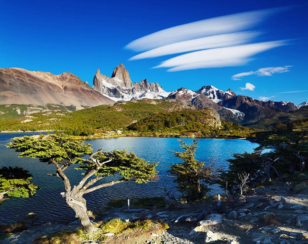 Il monte Fitz Roy è una delle due cime -insieme al Cerro Torre- più pittoresche dell