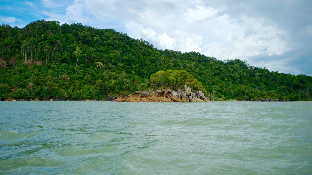 Bako National Park featuring landscape views, general coastal views and tropical scenes