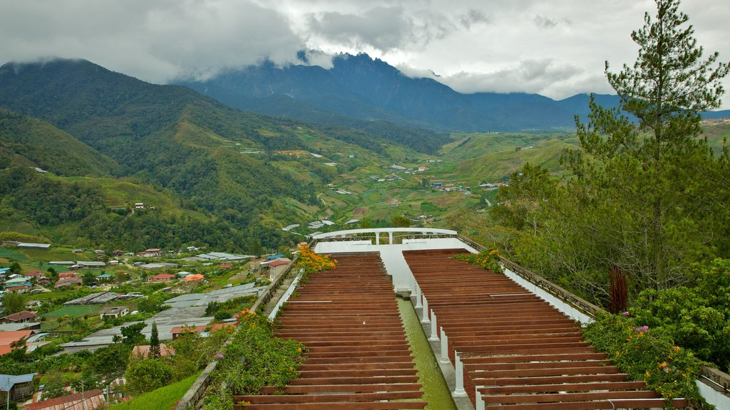 Kinabalu National Park showing a park, landscape views and mountains