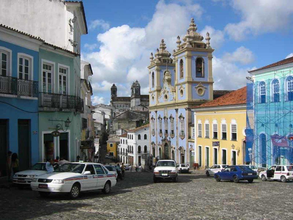 Le strade di Salvador de Bahia - Public Domain