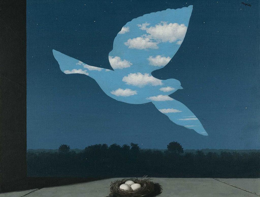 Le retour, Rene Magritte, Musée Royaux des Beaux-Arts de Belgique