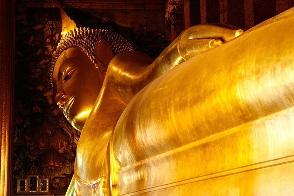 Buddha disteso. Fonte Pixabay