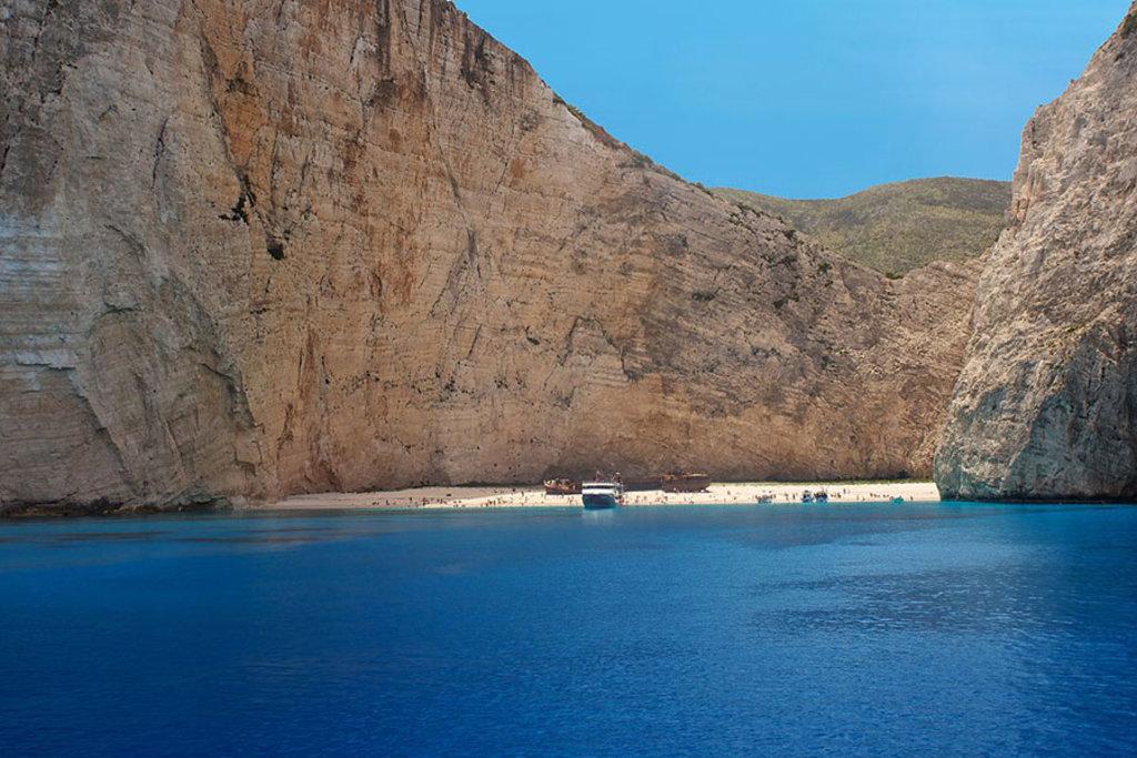Le più belle spiagge di Zante, la freccia del sud
