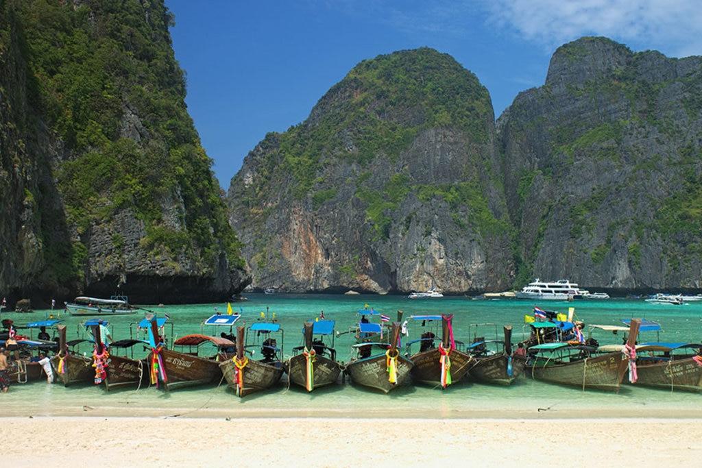 Maya Bay, Phi Phi Leh, Nicolas Vollmer/Flickr