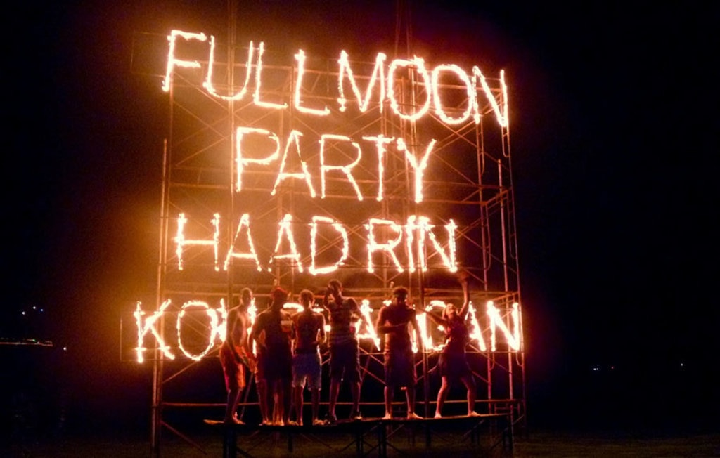 Full Moon Party a Koh Phangan Thomas Sauzedde/Flickr
