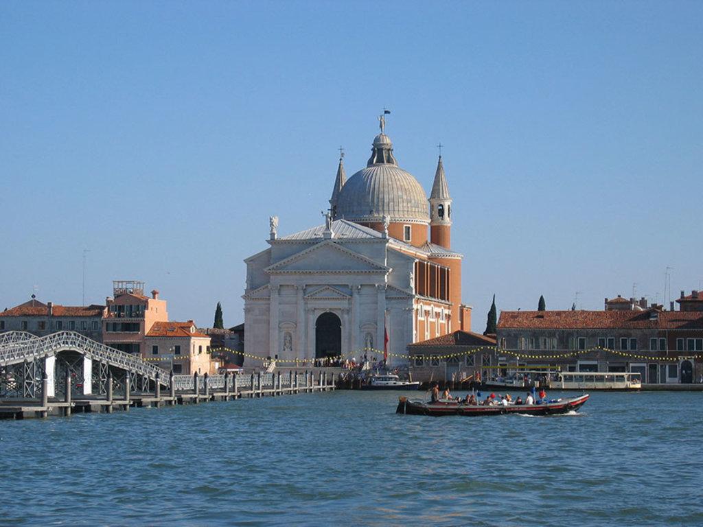 La chiesa del Redentore all'isola della Giudecca. By Luukas (Own work)  , via Wikimedia Commons