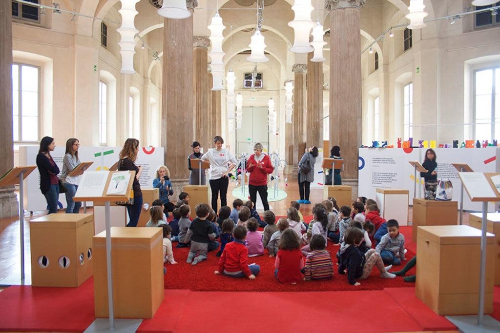 Le attività dei bambini al MUBA. Ph. Elena Valdre, courtesy of MUBA