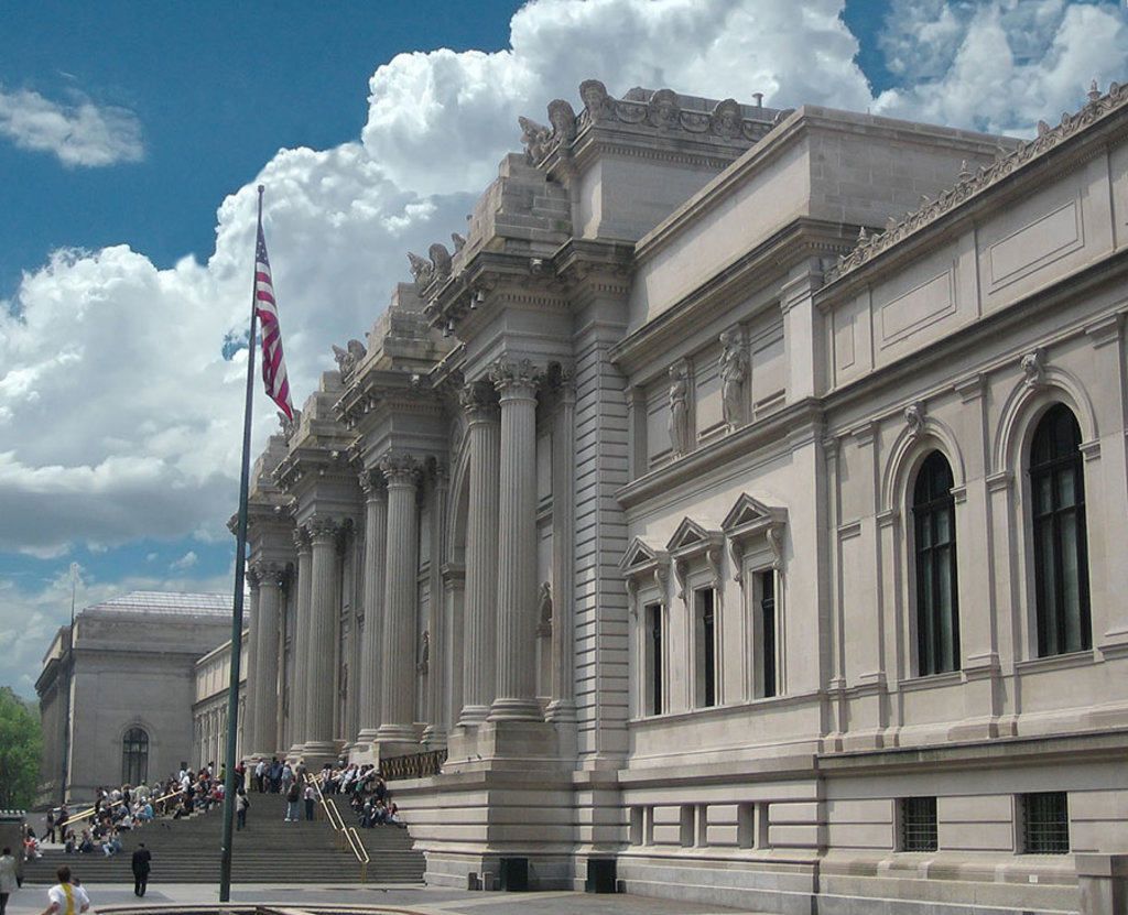 L'ingresso principale al Metropolitan Museum of Art di New York. By Arad (Own work)  , via Wikimedia Commons.