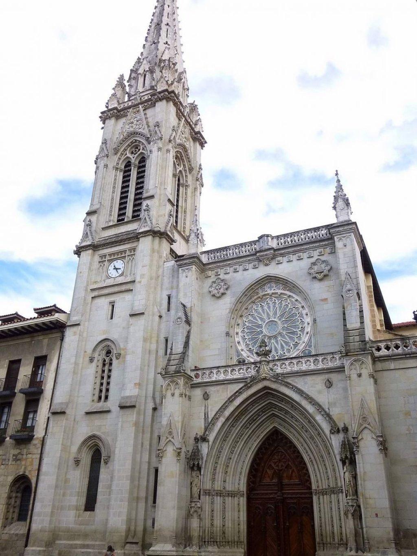 Cattedrale di Santiago a Bilbao - By Zarateman (Own work)  , via Wikimedia Commons