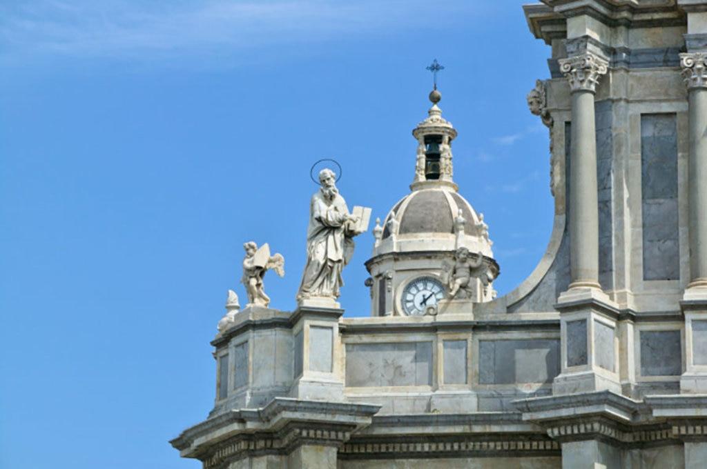 Un dettaglio del Duomo di Catania