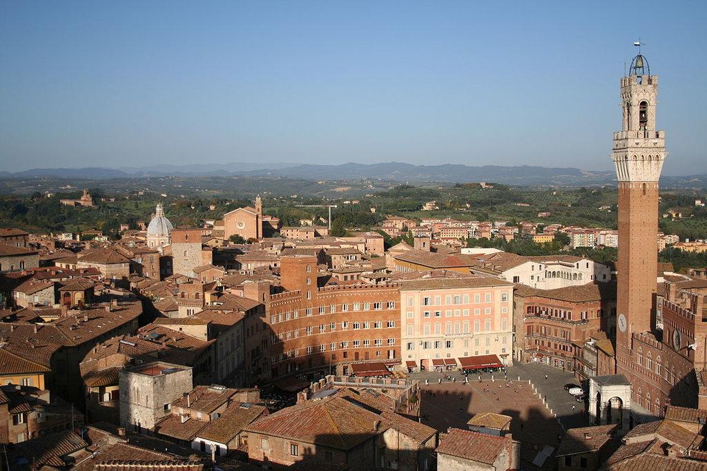 Siena vista dall
