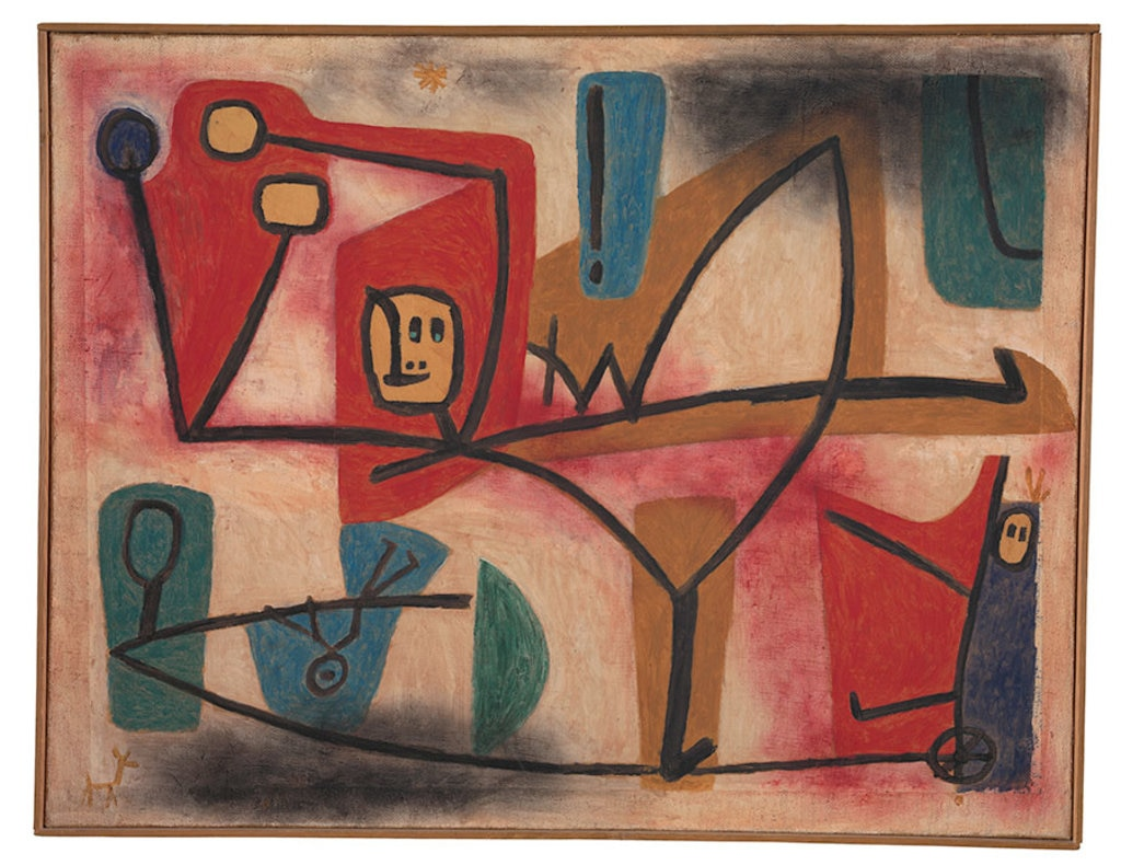 Paul Klee, Ubermut Exubérance, 1939, Zentrum Paul Klee Berne © Centre Pompidou 2016