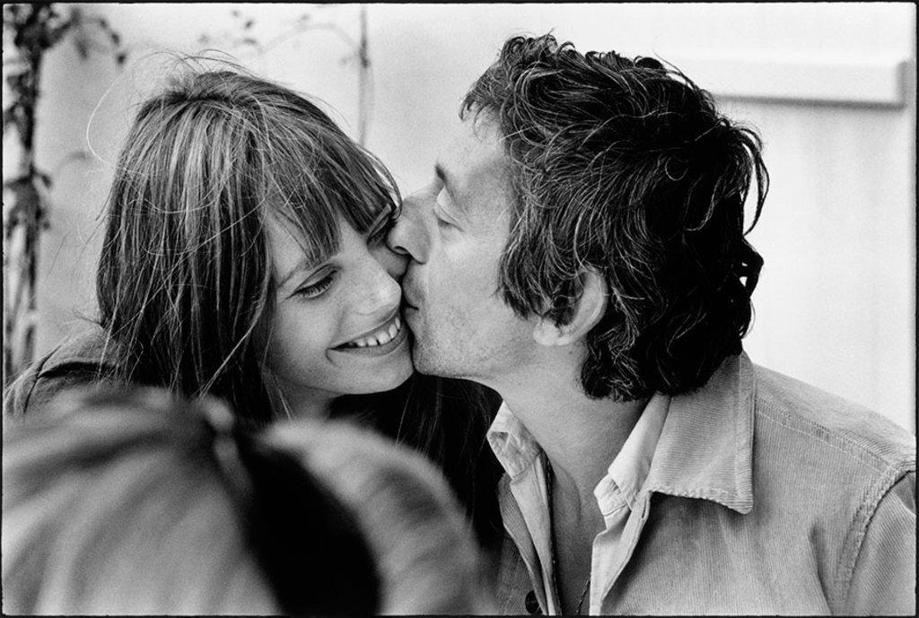 Serge Gainsbourg e Jane Birkin, Normandie, 1969 © Tony Frank. Courtesy of Galerie de l