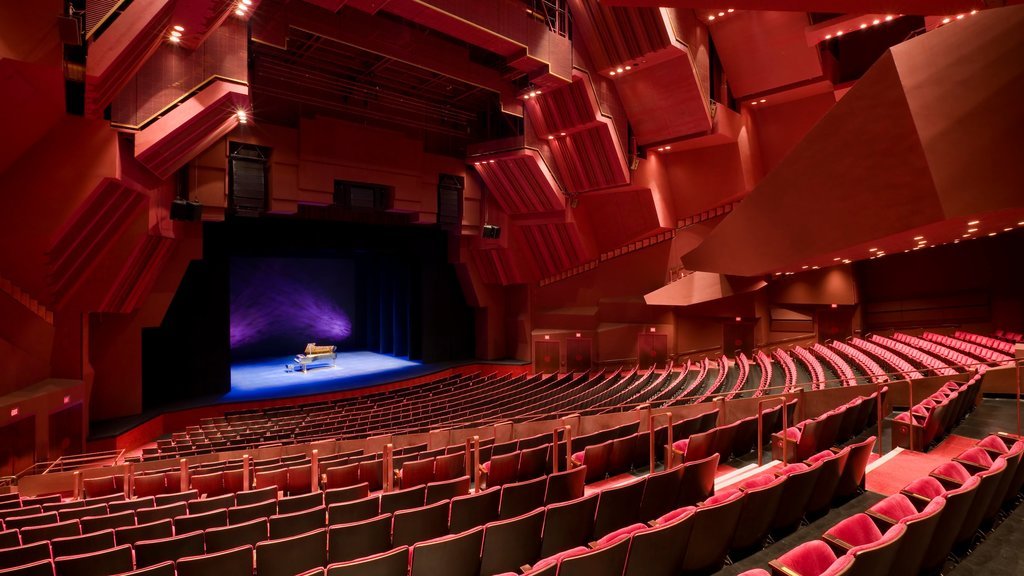Segerstrom Center for the Arts showing interior views and theater scenes