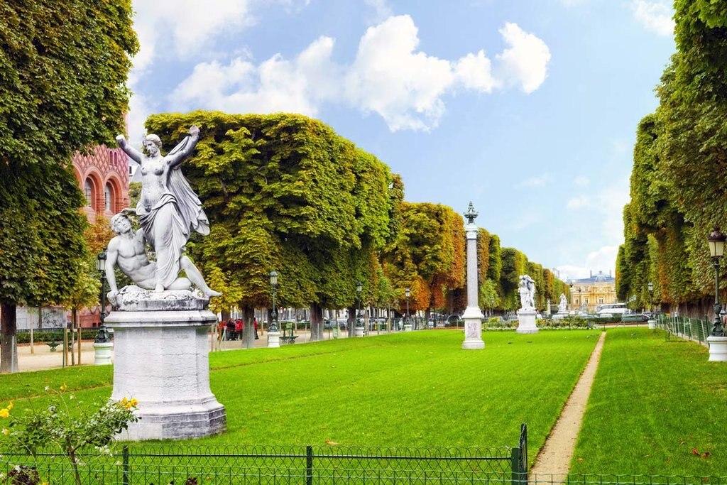 Il Jardin du Luxembourg è al centro di un meraviglioso itinerario per scoprire la rive gauche di Parigi. (EDAM)
