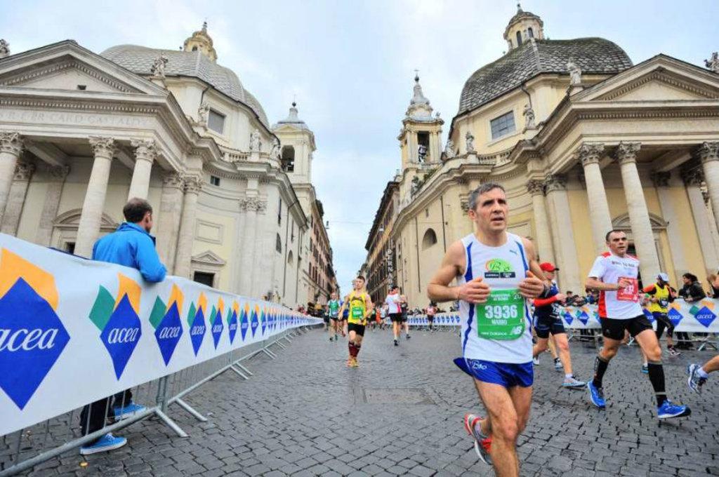 Maratona di Roma - courtesy of © www.maratonadiroma.it La 22ma edizione coinciderà con l'anno giubilare della Misericordia, un momento importante per la capitale e per il mondo intero