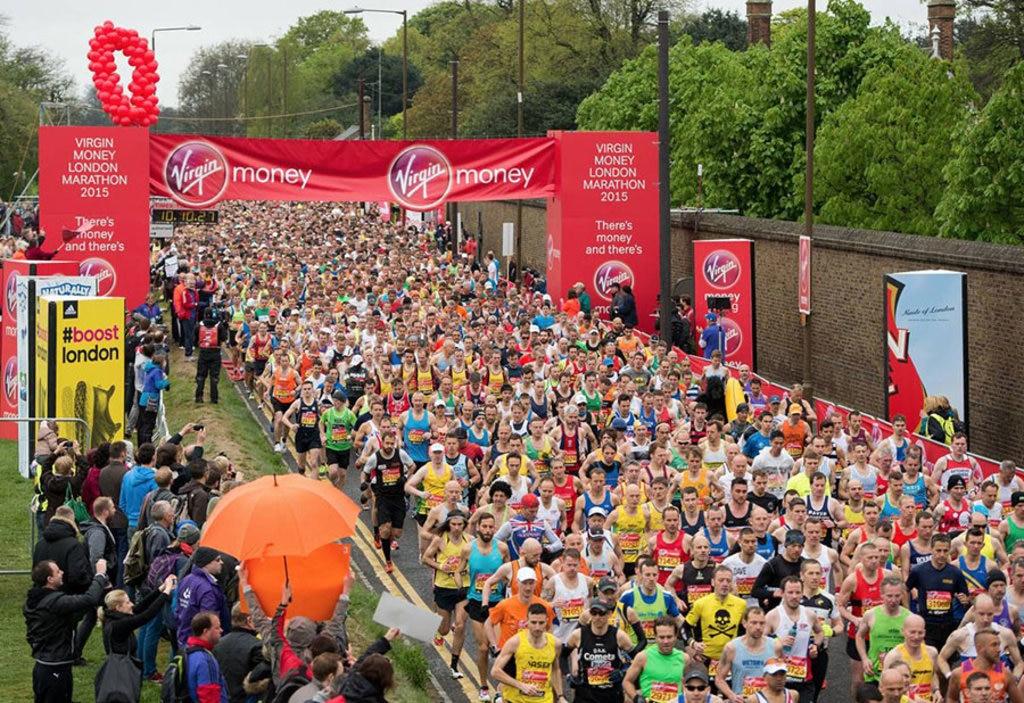Virgin Money London Marathon - courtesy of ©  www.virginmoneylondonmarathon.com Dal 1981 ad oggi la Maratona di Londra si è trasformata in un evento nazionale, e gareggiare è un'occasione per gustarsi la capitale inglese in tutto il suo fascino. Tra le maggiori maratone del mondo, la London Virgin Money si disputerà domenica 24 aprile