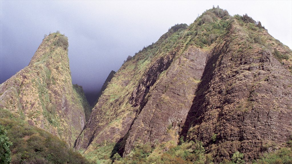 Wailuku which includes mountains and landscape views
