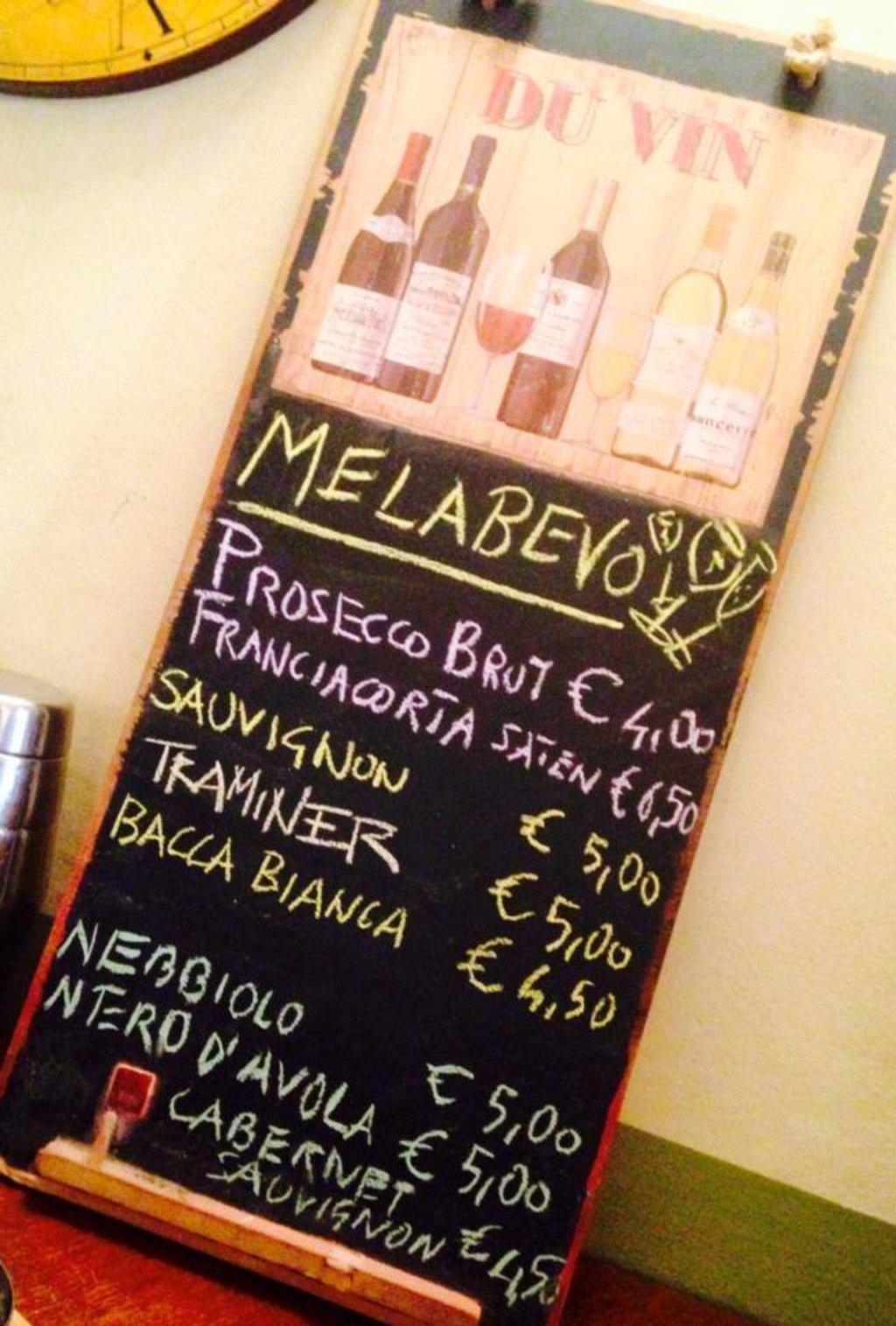 Al Melabevo dalla Lilli, Courtesy of © Melabevo Wine Bar
