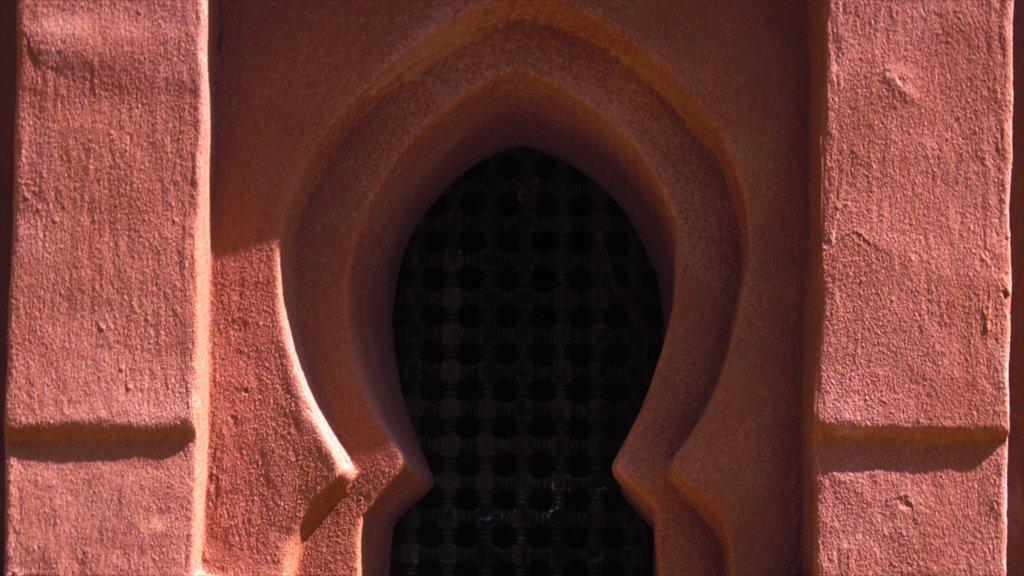 Agadir mostrando patrimonio de arquitectura