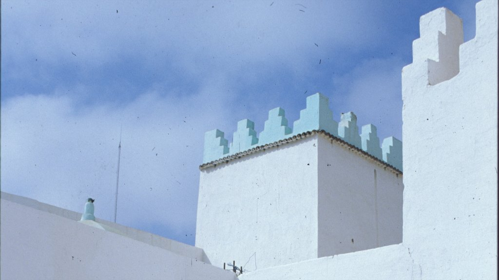 Agadir which includes a castle