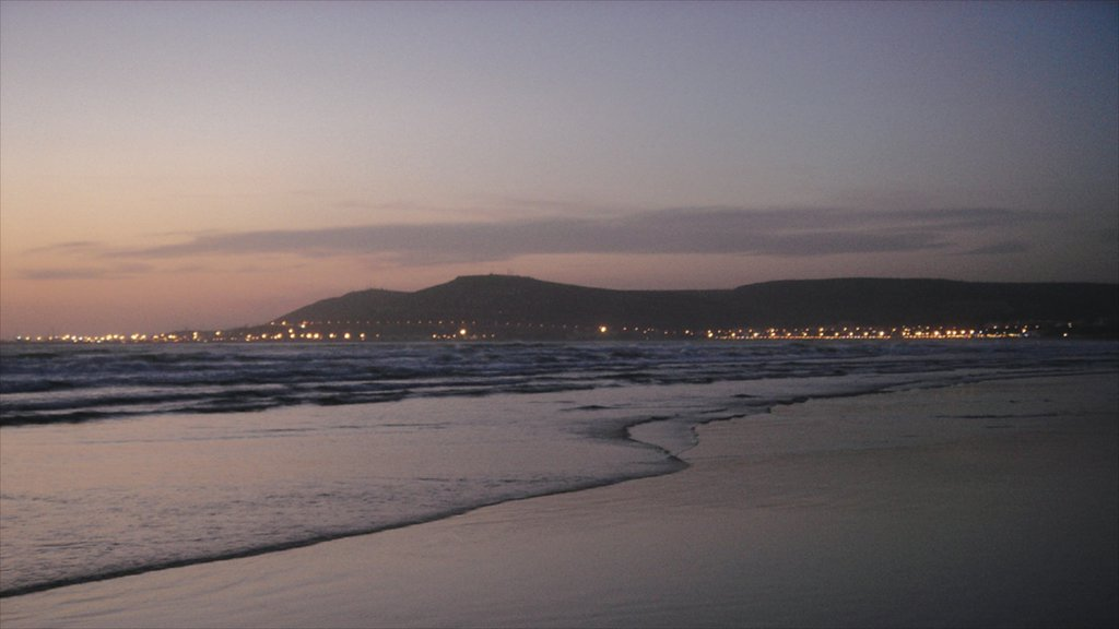 Agadir featuring a sandy beach, landscape views and general coastal views