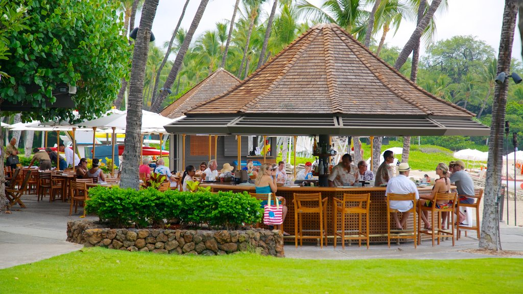 Mauna Kea which includes rides, a beach bar and outdoor eating