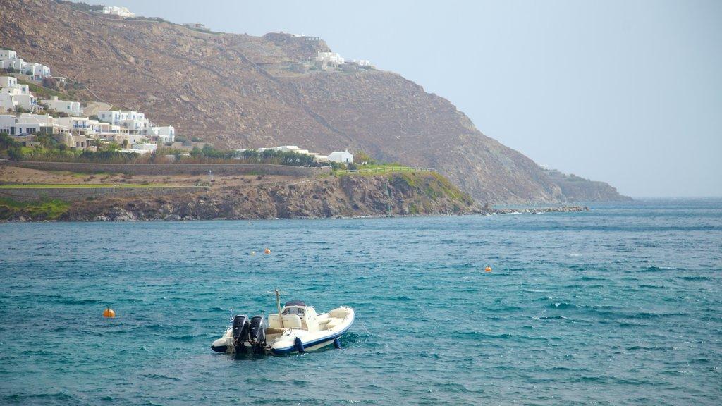 Mykonos which includes general coastal views