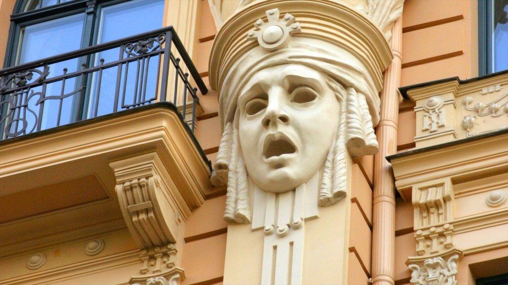 Riga which includes heritage architecture