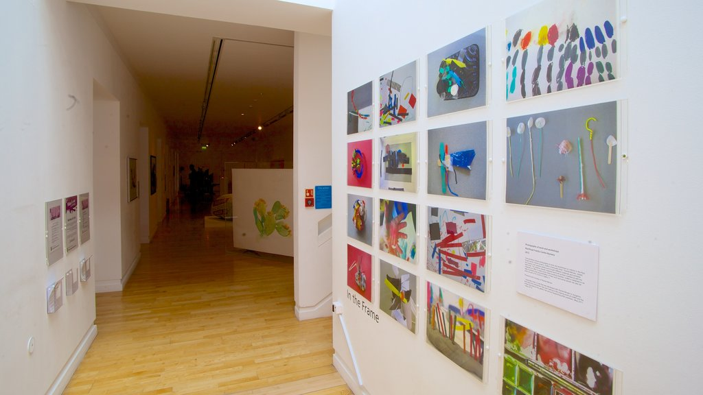 Gallery of Modern Art which includes interior views and art