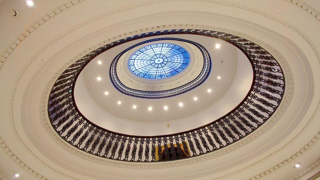 Gallery of Modern Art que incluye vistas interiores y arte