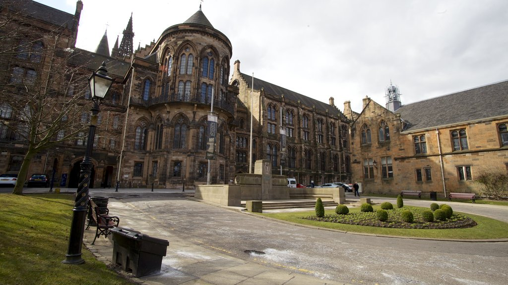 The Hunterian showing heritage architecture