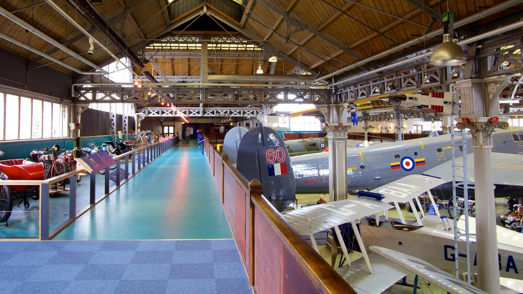 Museum of Science and Industry which includes aircraft and interior views