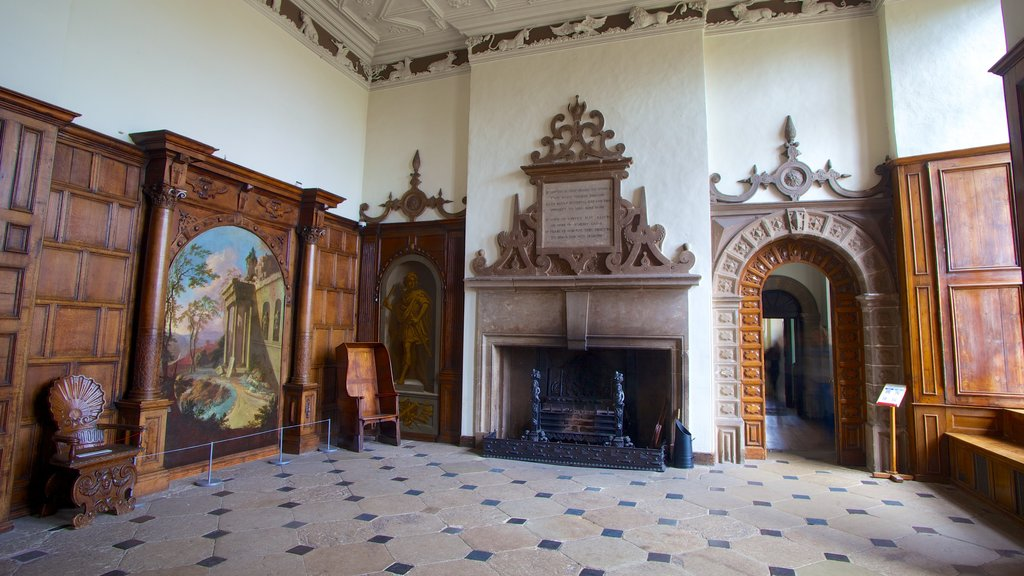 Aston Hall which includes interior views and a castle