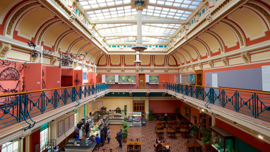 Birmingham Museum and Art Gallery featuring art and interior views