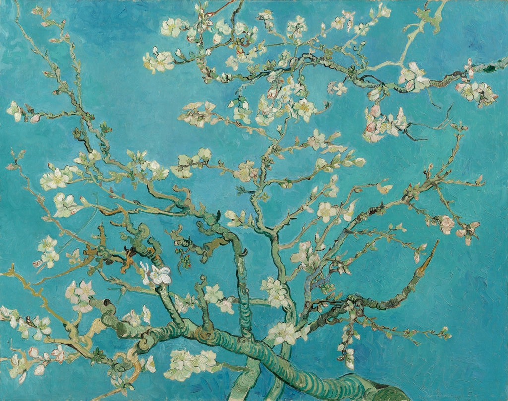 Vincent van Gogh, Ramo di mandorlo, 1890. Courtesy of the Van Gogh Museum, Amsterdam