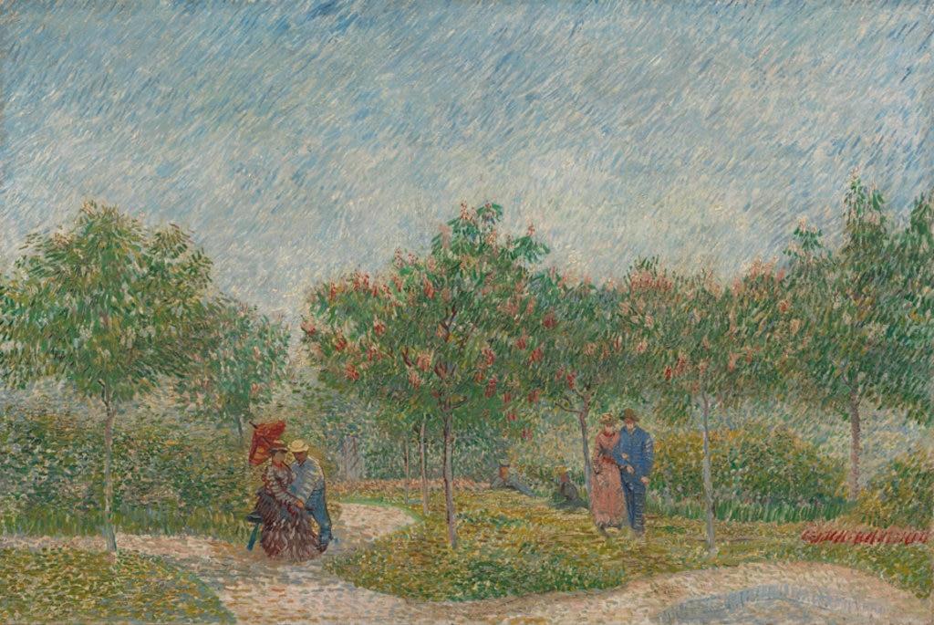Vincent van Gogh, Giardino con coppie, 1887. Courtesy of the Van Gogh Museum, Amsterdam