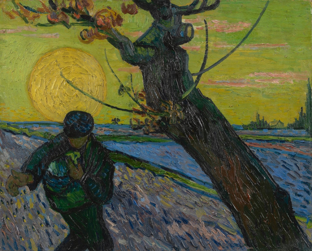 Vincent van Gogh, Il Seminatore, 1888. Courtesy of the Van Gogh Museum, Amsterdam