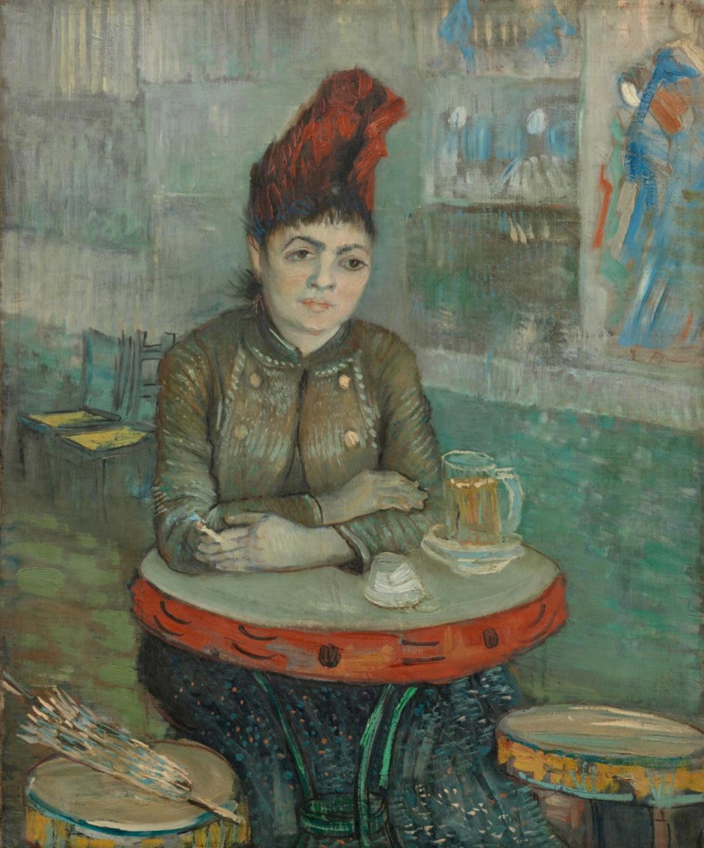 Vincent van Gogh, Agostina Segatori al Cafè Le Tambourine, 1887. Courtesy of the Van Gogh Museum, Amsterdam