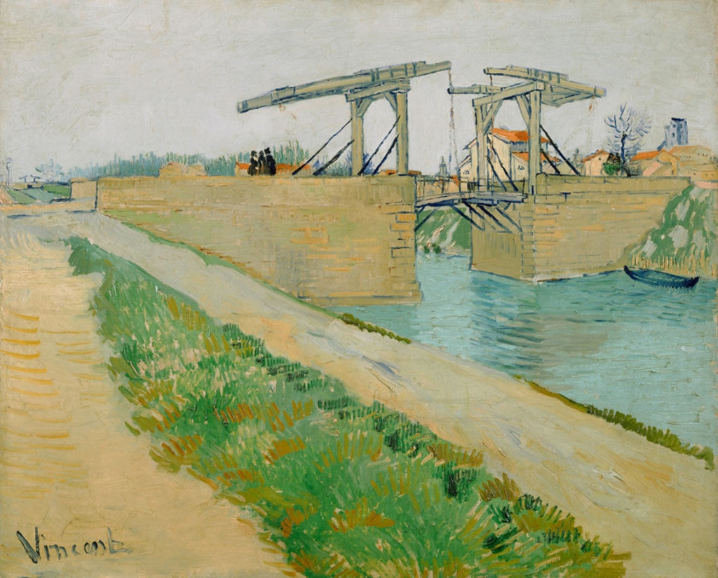 Vincent van Gogh, Il ponte di Langlois, 1888. Courtesy of the Van Gogh Museum, Amsterdam