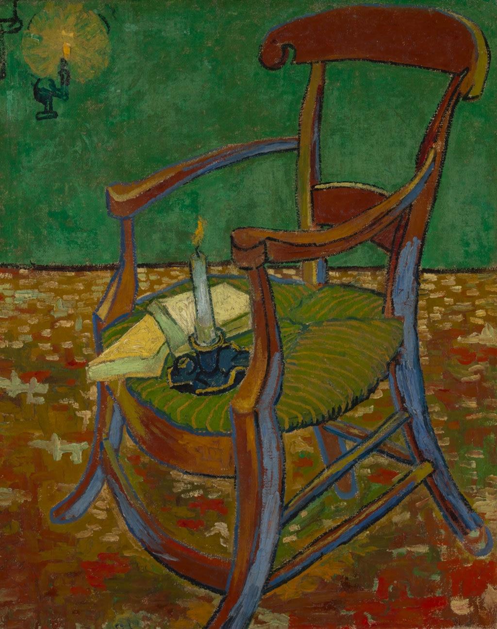 Vincent van Gogh, La sedia di Gauguin, 1888. Courtesy of the Van Gogh Museum, Amsterdam