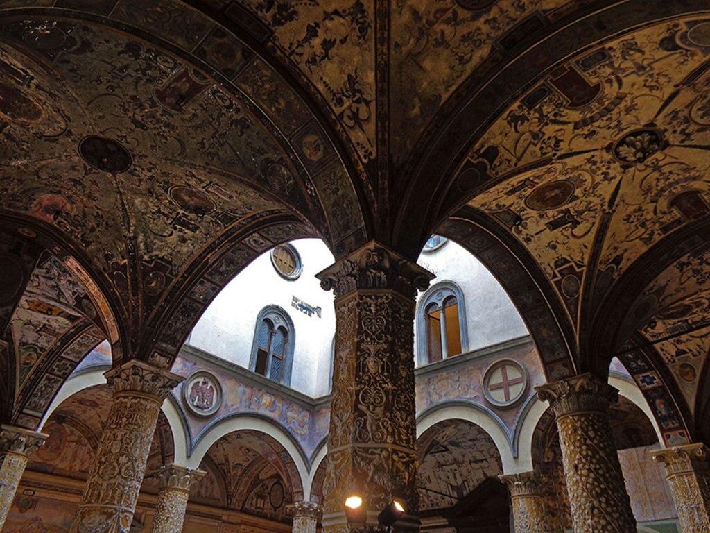 Cortile di Palazzo Vecchio