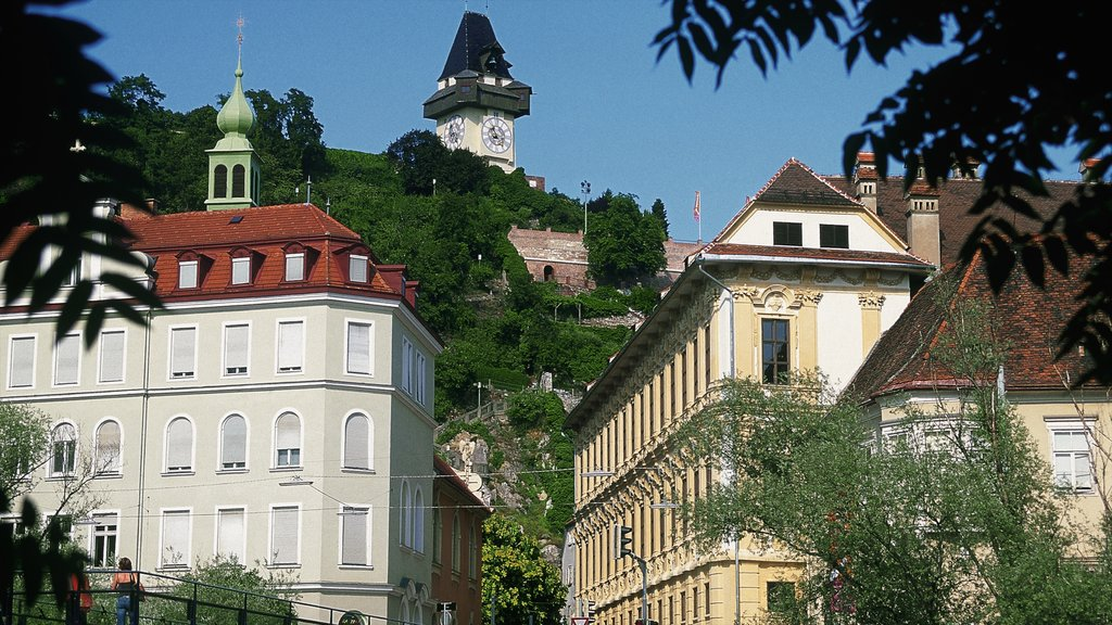 Graz featuring a city and heritage architecture