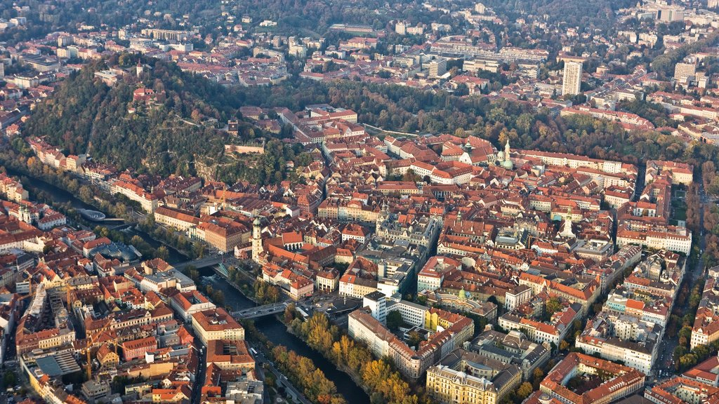 Graz showing a city