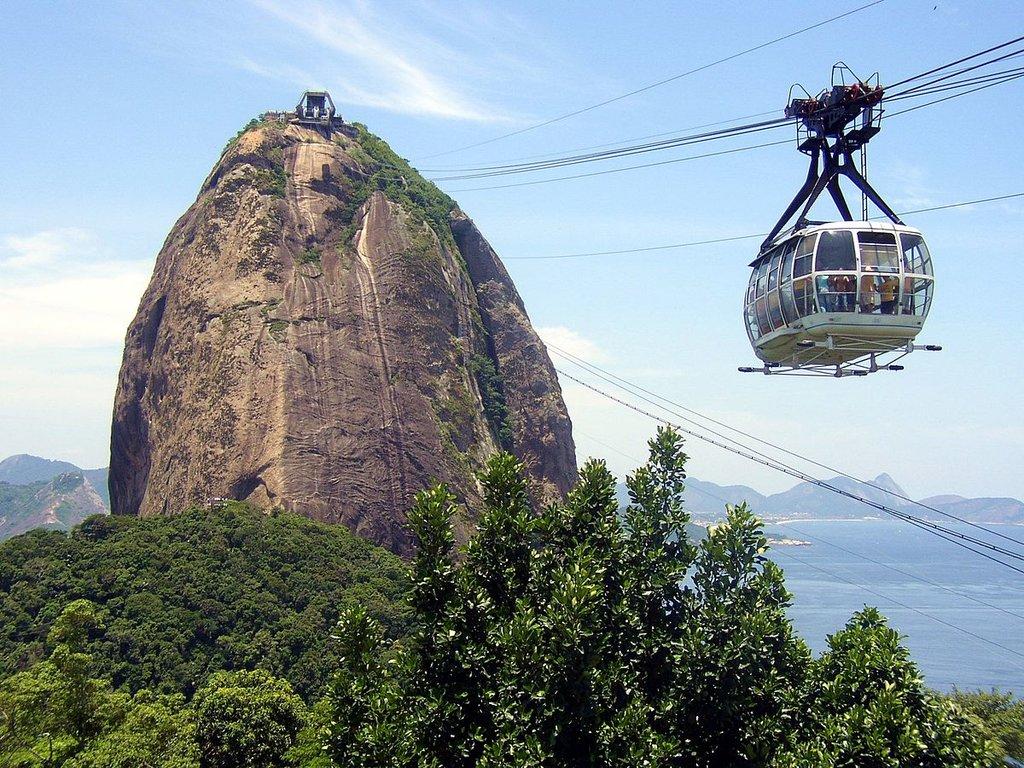 Il Pan di Zucchero a Rio de Janeiro - Public Domain